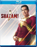 Shazam!, starring Zachary Levi, Mark Strong, Asher Angel